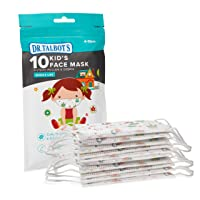 Dr. Talbot's Disposable Kid's Face Mask for Health Protection by Nuby, 10 Pack,...