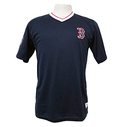 9ac65ffbf Amazon.com   MLB Boston Red Sox Men s Active Wear Pullover Practice ...
