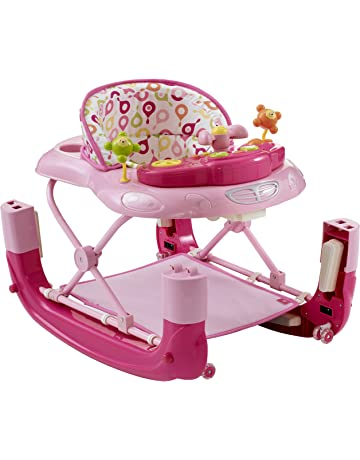 Mychild Walk'n'Rock 2-in-1 Baby Walker Pink