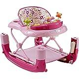 Mychild Walk'n'Rock 2-in-1 Baby Walker Pink