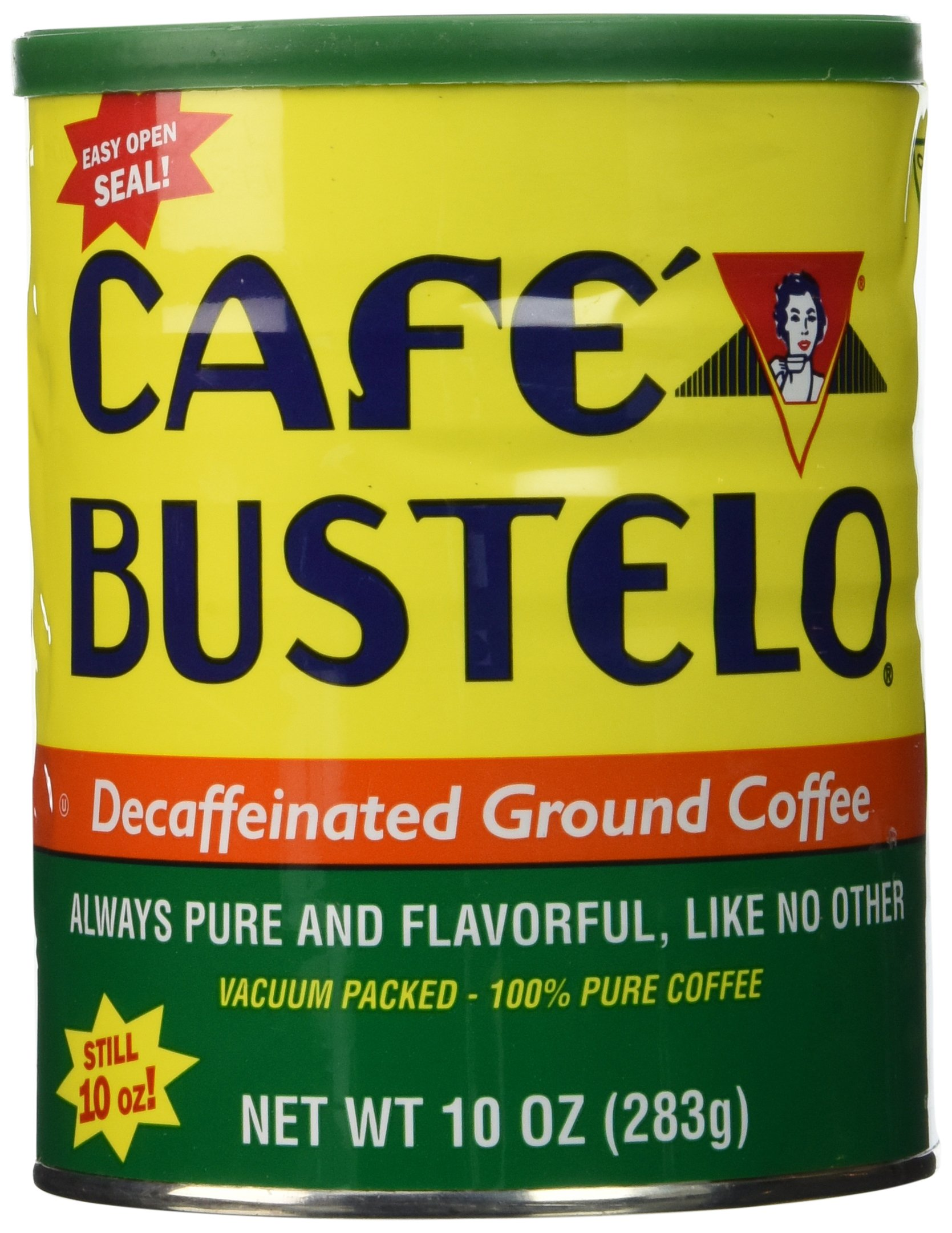 Cafe Bustelo Decaffeinated Coffee, 10 oz