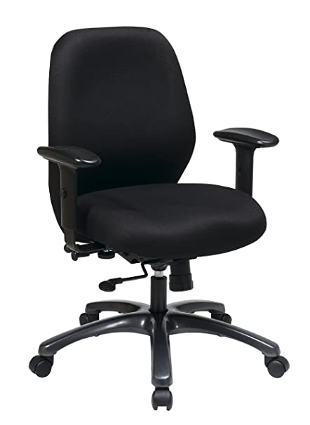 amazon com office star high intensity use ergonomic chair with 2 to
