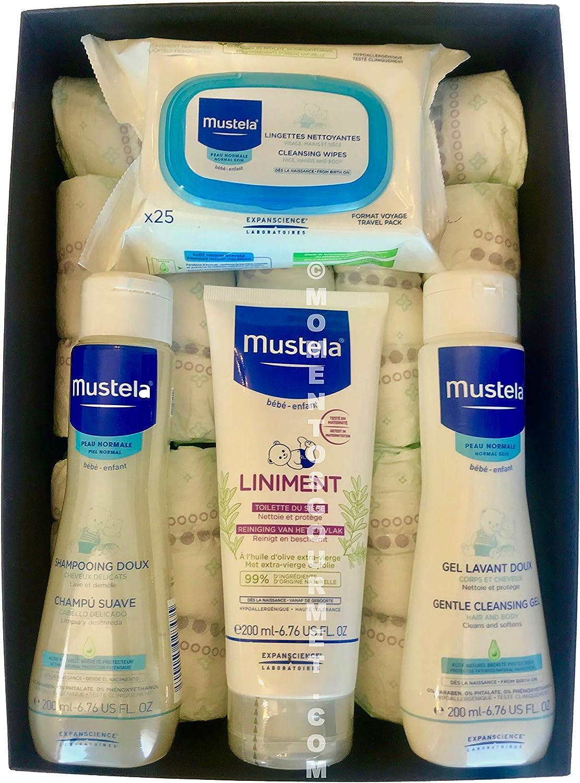 Cesta-Canastilla pañales DODOT + productos MUSTELA: Amazon.es: Bebé