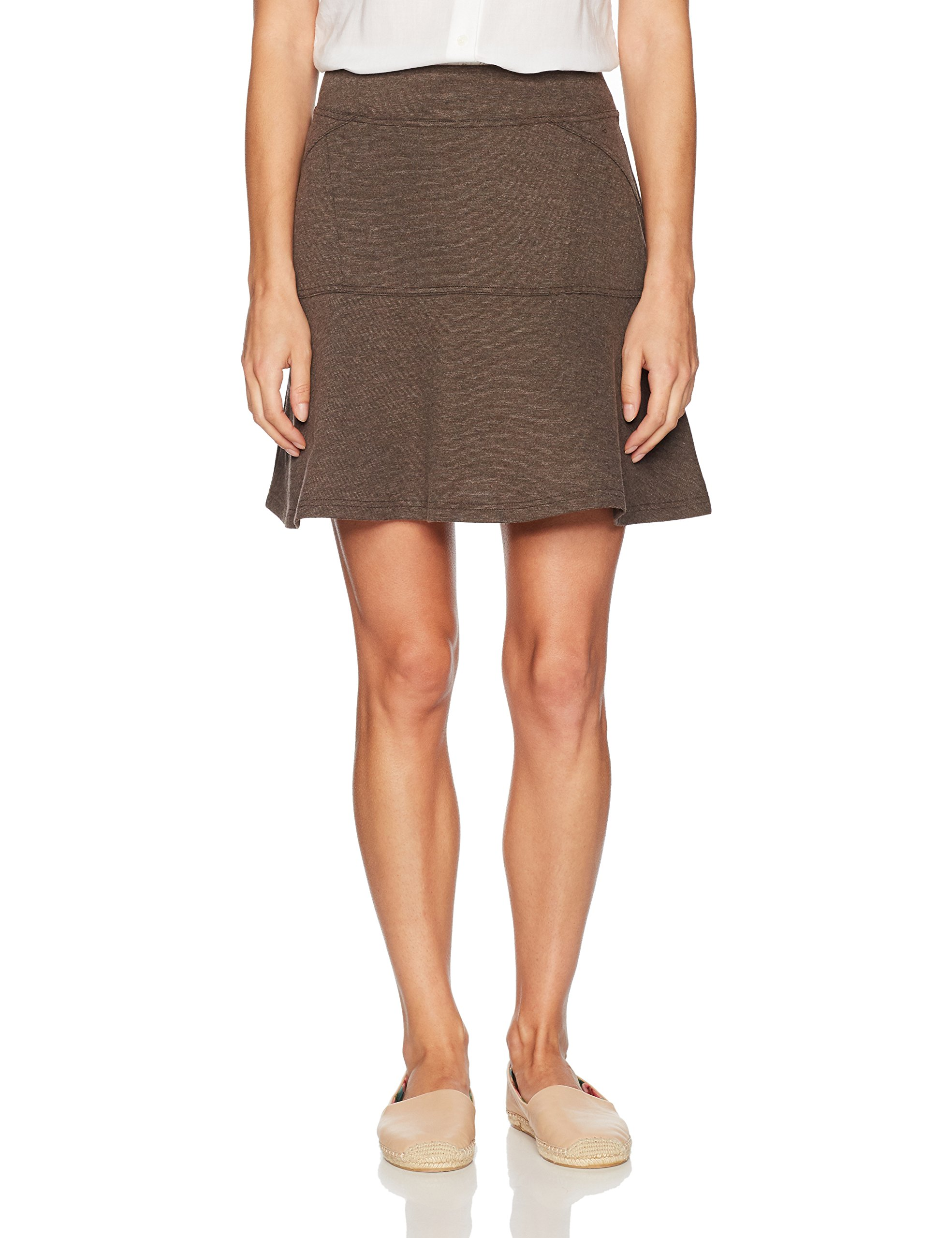 prAna Women's Gianna Skirt, X-Small, Brown by prAna