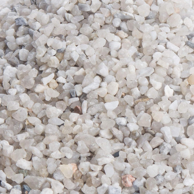 Streusand im 25 kg Sack umweltfreundliches abstumpfendes Streumittel f/ür Winterdienst kostenloser Versand 2-3 mm K/örnung