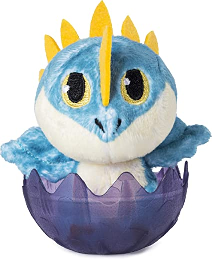 Wild Gronkle Dragons Legends Evolved Plush Figure 3 Factory Sealed