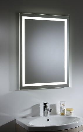 Tavistock Toro Large Illuminated LED Backlit Bathroom Mirror With Heated  Demister Pad Sensor Switch 800 X