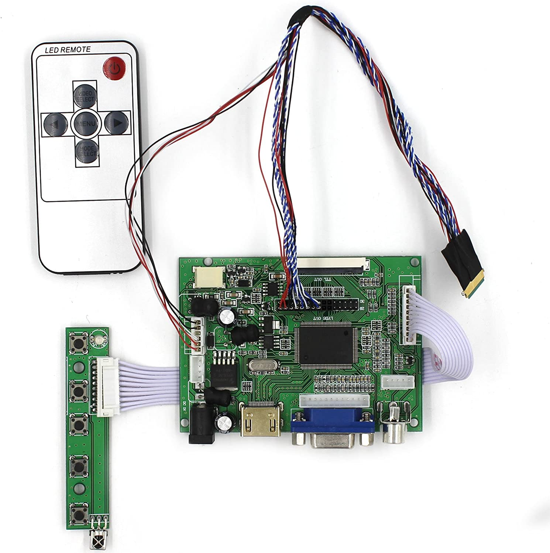 Controlador Lcd Hdmi 1024x600 10.1 40pins Ltn101nt02 N101l6