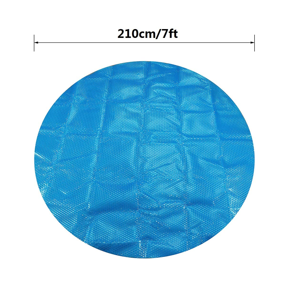 Insulation Energy Saving /& Environmental Protection dDanke 7ft Blue Round Swimming Pool Solar Covers Spa Protective Cover