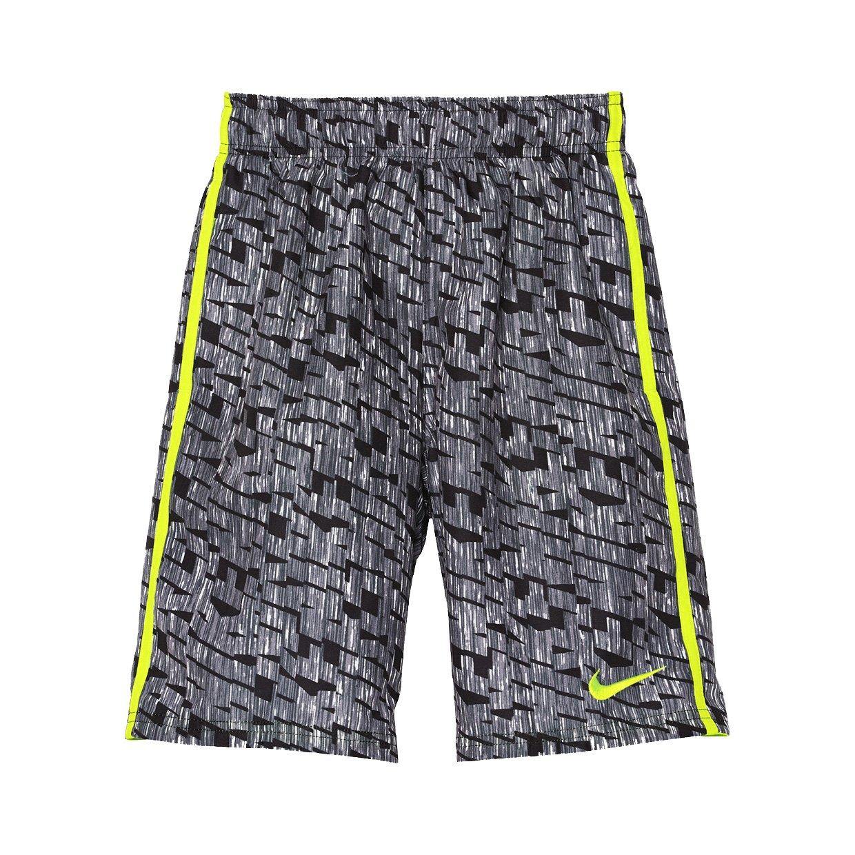 Nike NESS8664 Boys' Rush Replay Diverge 8'' Trunk, Black - Small O0057DCKUS643149374320