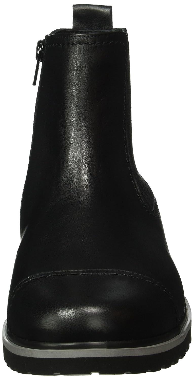 Ganter Herren Giacomo W  Weite G Chelsea Boots Schwarz (Schwarz 0100)