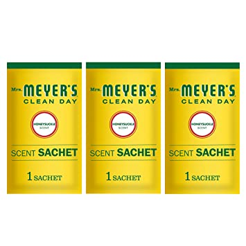 Mrs. Meyers Scent Sachets, Honeysuckle, 1 CT