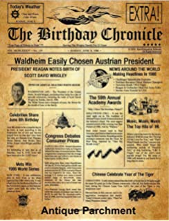 graphic about Free Printable Birthday Chronicle named : Gombita Firms The Birthday Chronicle PDF