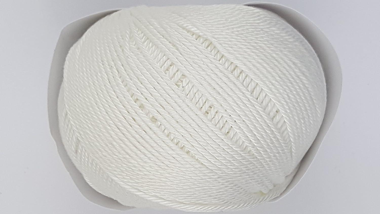 Sublime algodón egipcio DK: 320 Lily blanco ovillo de lana para ...