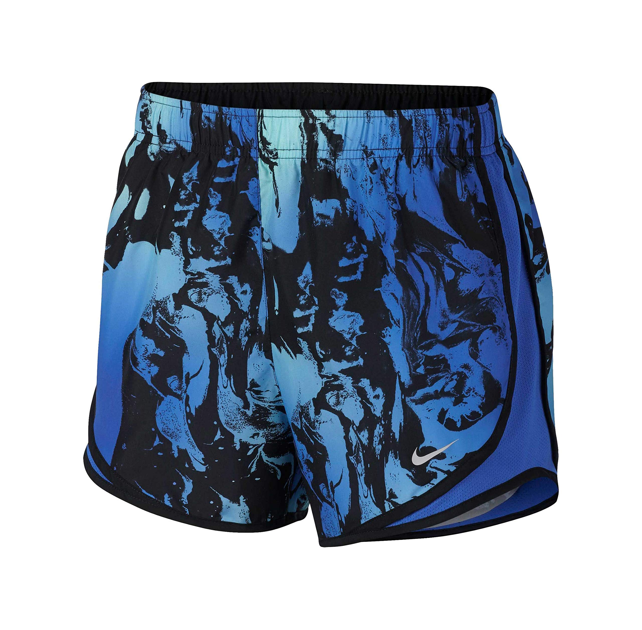 6707a3528f80f Galleon - NIKE Women's Dry Tempo Short (X-Large, Hyper Royal/Lime/Print)