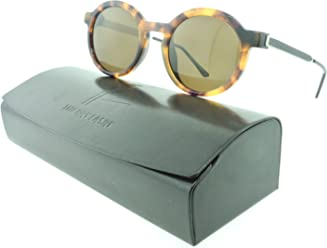 5412470ccb1 Thierry Lasry Sobriety Round Sunglasses Composite Frames