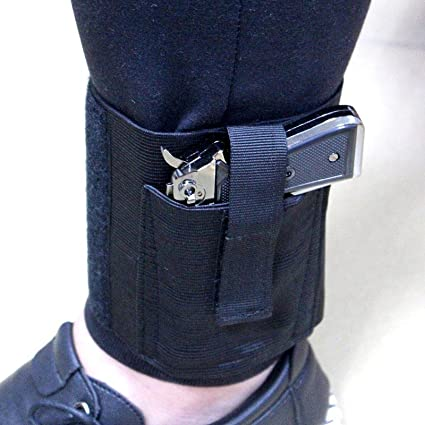 Concealed Carry Universal Pistol Ankle Leg Gun Holster for Compact Pistols