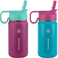 Thermoflask Kids Double Wall Vacuum Insulated Stainless Steel (Teal/Raspberry)