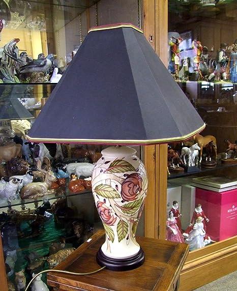 Moorcroft table lamp original shade 4612 made in england moorcroft table lamp original shade 4612 made in england aloadofball Images