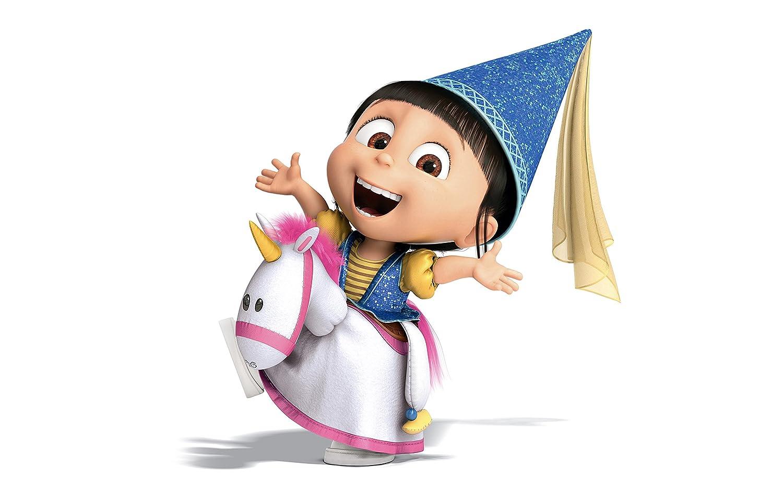 Hasil gambar untuk agnes despicable me unicorn