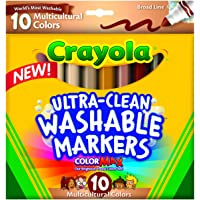 Crayola Ultraclean BL Multicultural Markers (10 Count)