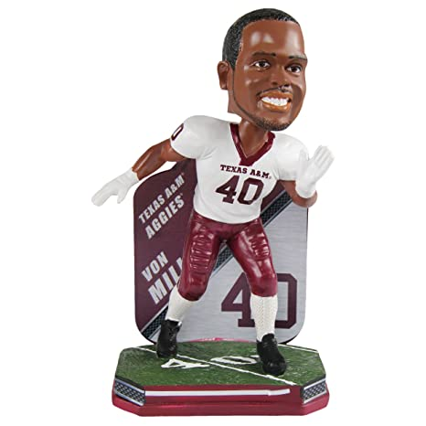 size 40 43be4 cf504 Von Miller Texas A&M Aggies Special Edition College Football Name and  Number Bobblehead - Denver Broncos