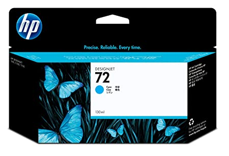 HP C9371A 72 130ml Ink Cartridge (Cyan) Ink Cartridges at amazon