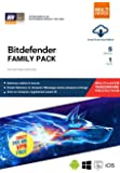 BitDefender Family Pack with Ransomware Protection - 5 Devices, 1 Year (Email Delivery in 2 hours- No CD)