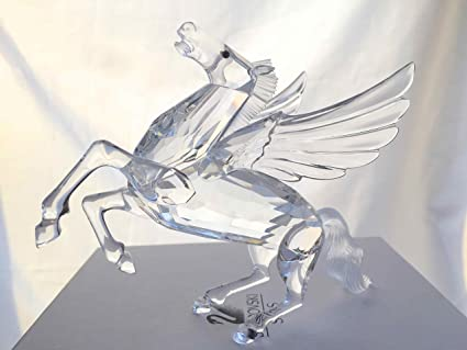 c26de8629 Image Unavailable. Image not available for. Color: Swarovski Pegasus 1998  SCS #216327 Annual Limited Edition