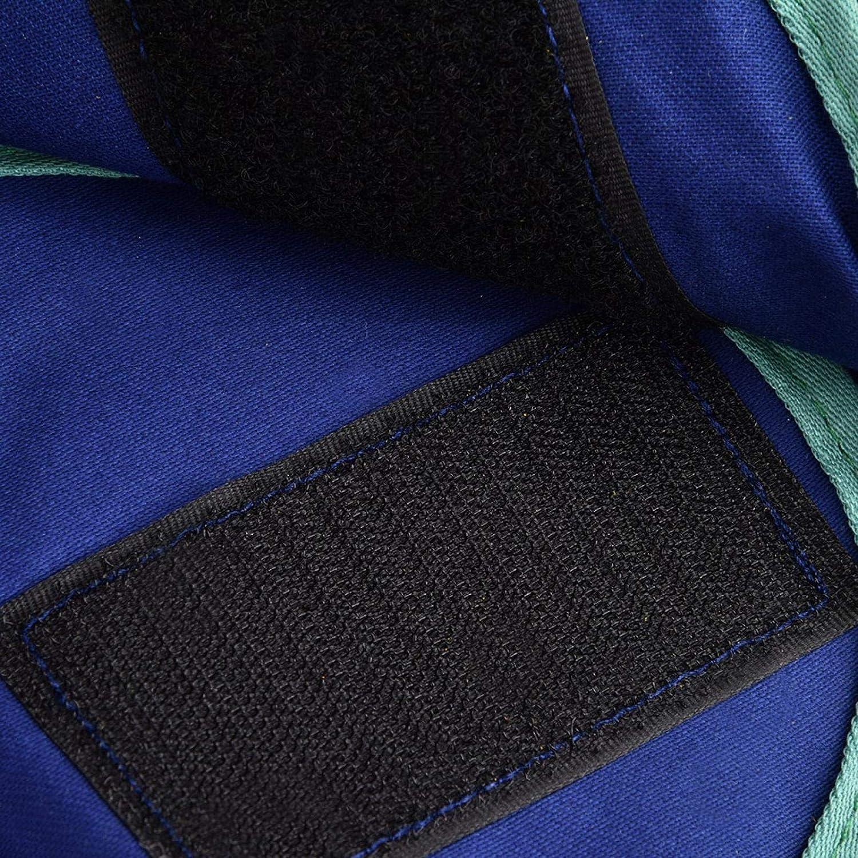 Gorro de seguridad para soldadura trabajador electricista azul suave compacto con estilo superior para reparador de soldador gorro de soldadura