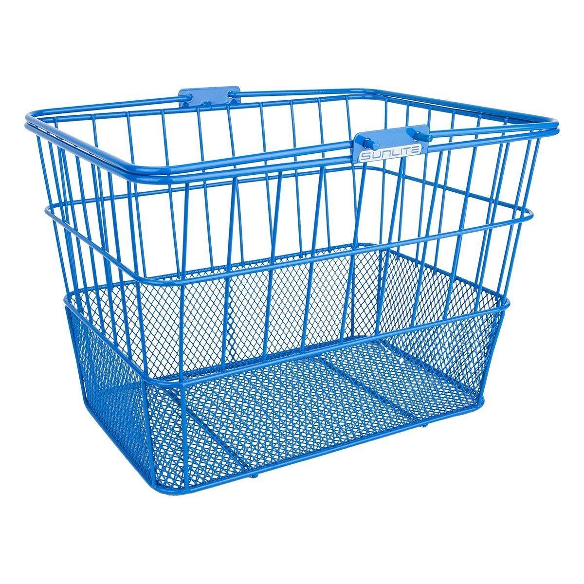 Sunlite Standard Mesh Bottom Lift off Basket with Bracket, Blue