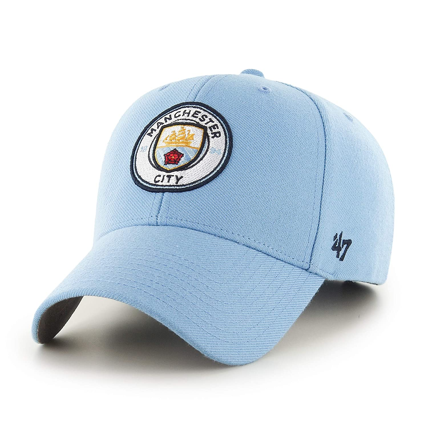 47 Brand Manchester City FC MVP Cap - Columbia Blue at Amazon Men s  Clothing store  e03d2100bf8
