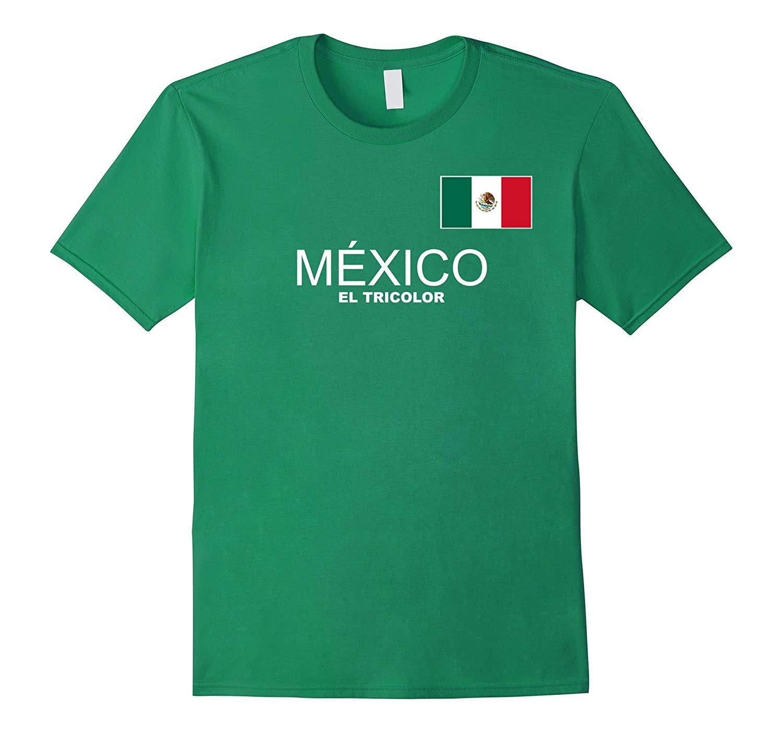 Mexico Futbol Soccer T-Shirt-FL