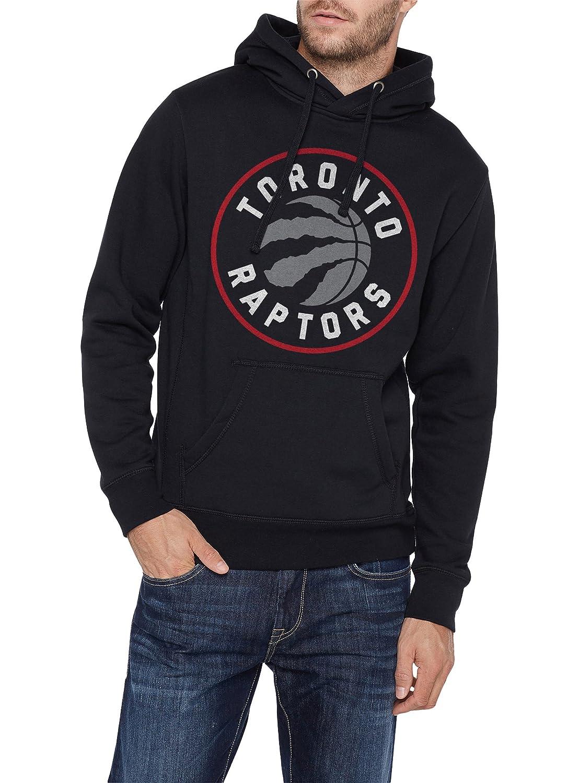 size 40 fa4be a90f6 Toronto Raptors Licensed NBA New Circle Logo Hoodie Black