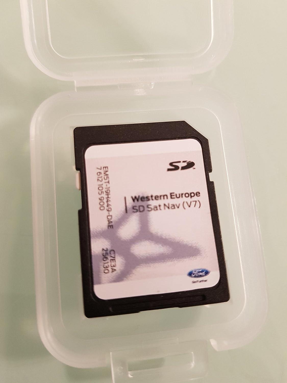 Tarjeta SD GPS Ford MFD Sony Europa V7 2017, no Touchscreen Only: Amazon.es: Electrónica
