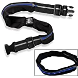 As Seen On TV LED Lighted GO Belt Extra Stretchy - 2 Expandable Pockets - 2 LED Light Modes