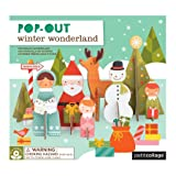 Petit Collage Pop-Out and Build, Winter
