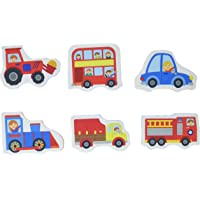 Trucks and Trains Chunky Bath Stickers