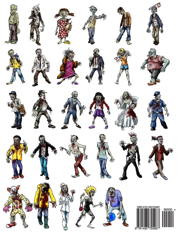 The zombie apocalypse coloring book - Amazon Com The Zombie Apocalypse The Almost Adult Coloring Book 9781493755967 John Moher Books