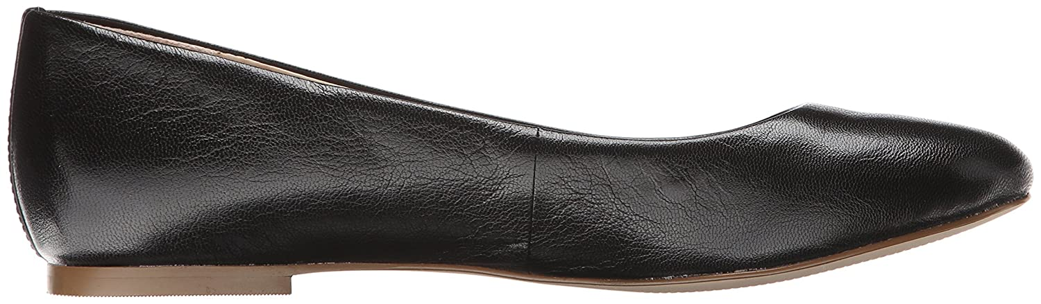 Dr. Scholl's Womens Vixen Leather Closed Toe Slide Flats B00UMKLHO6 9.5 B(M) US|Black Leather