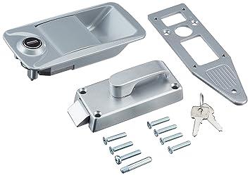 Brunner Metal door lock MC 400: Amazon co uk: Sports & Outdoors