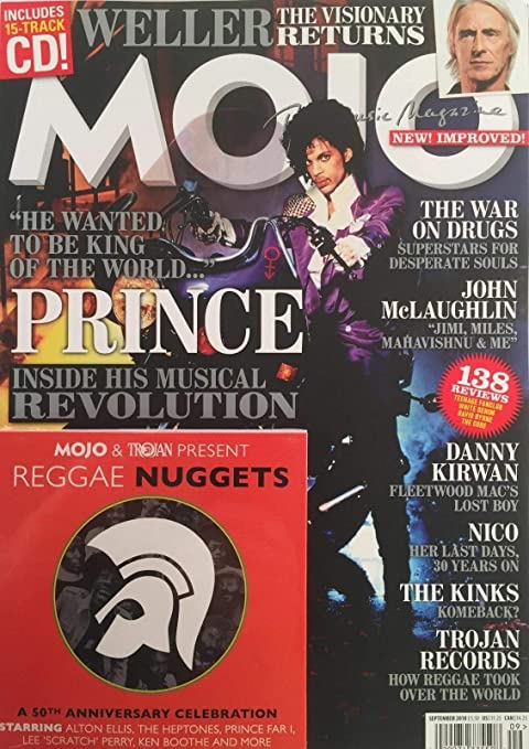 Amazon com: MOJO THE MUSIC MAGAZINE SEPT 2018, WITH FREE CD, PRINCE