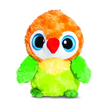 0ed95d05867 Aurora 60375 Yoohoo and Friends 5-inch Lovlee Love Bird Plush Toy -  multicoloured
