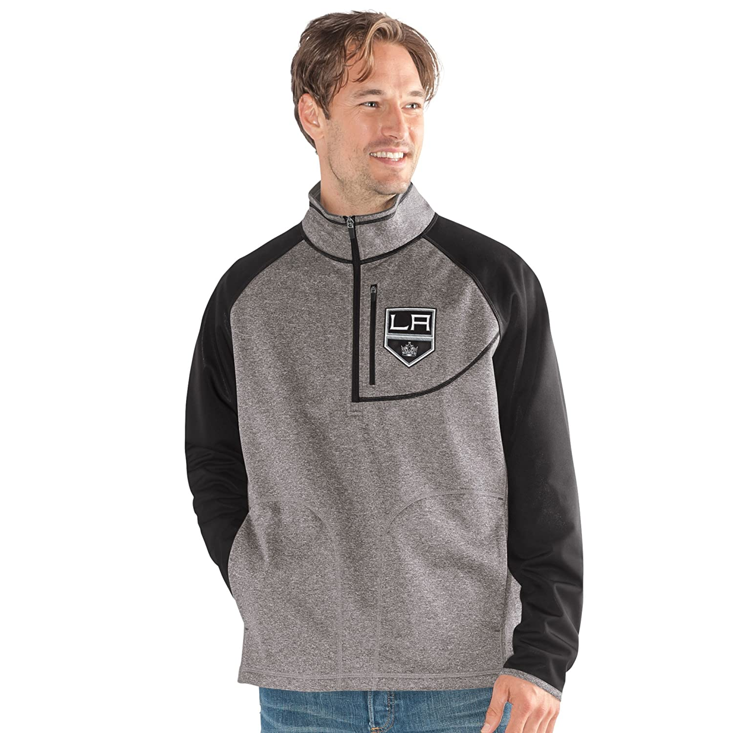 G-III Mens Mountain Trail Half Zip Pullover X-Large Gray