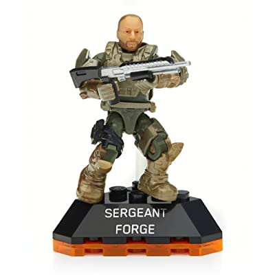 Mega Construx Halo Heroes Series 2 Sergeant Forge Figure #1: Toys & Games