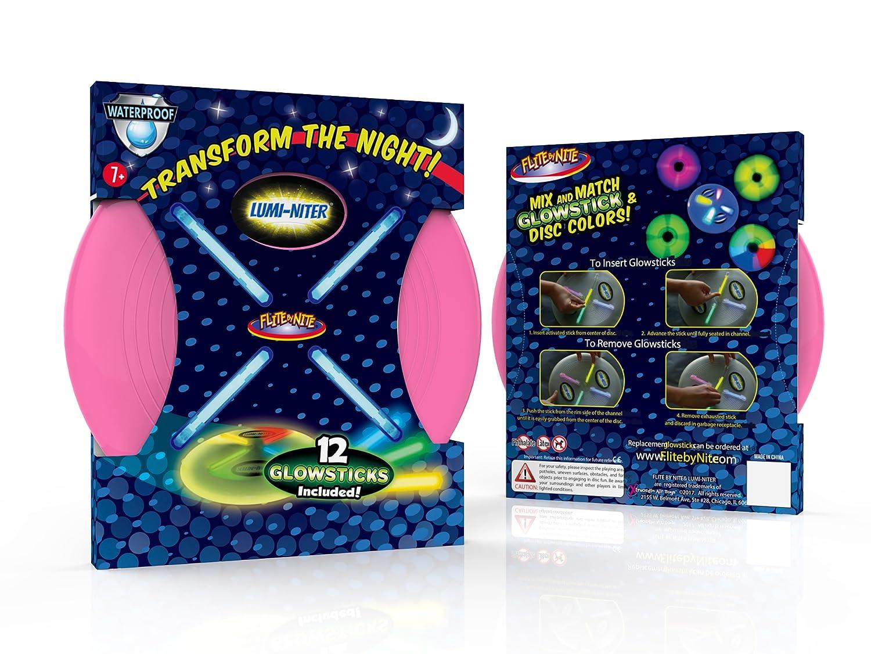 Amazon.com: Flite por Nite lumi-niter Disco Kit Raspberry ...