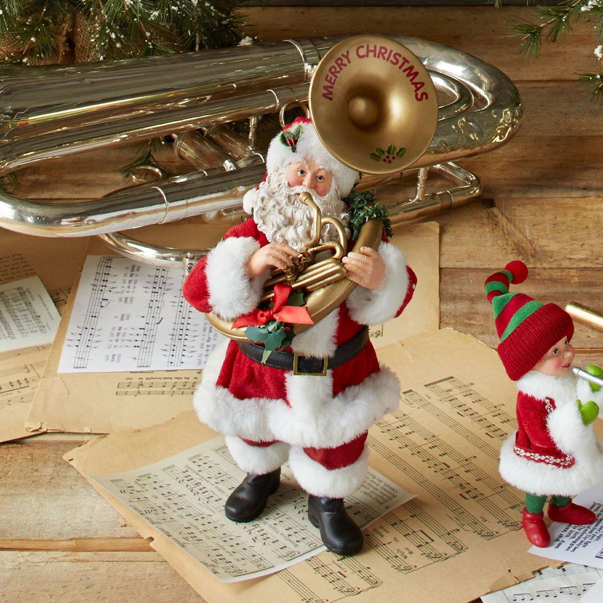 Department 56 Possible Dreams Oompah Santa, 11 inch