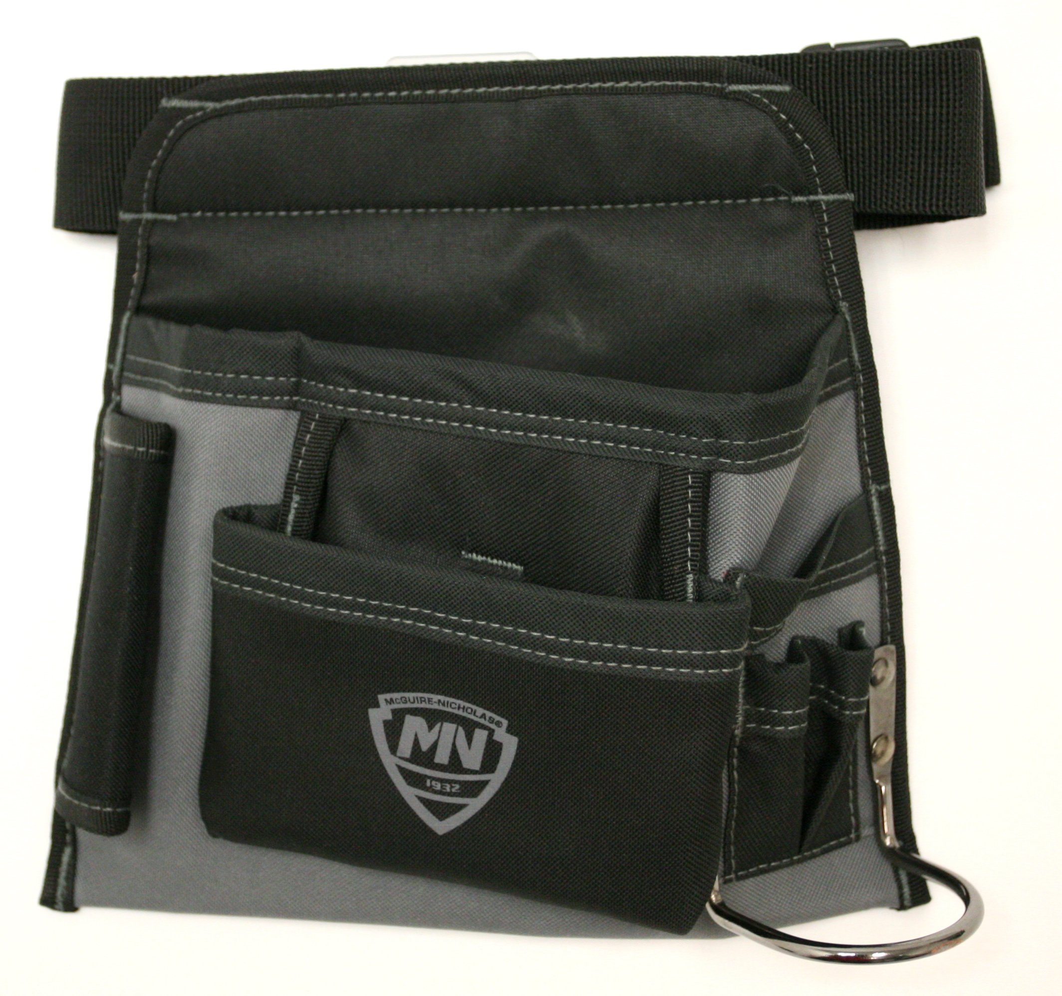 McGuire Nicholas 5-Pocket Handyman's Tool belt and pouch with hammer loop. Adjustable up to 48 inches