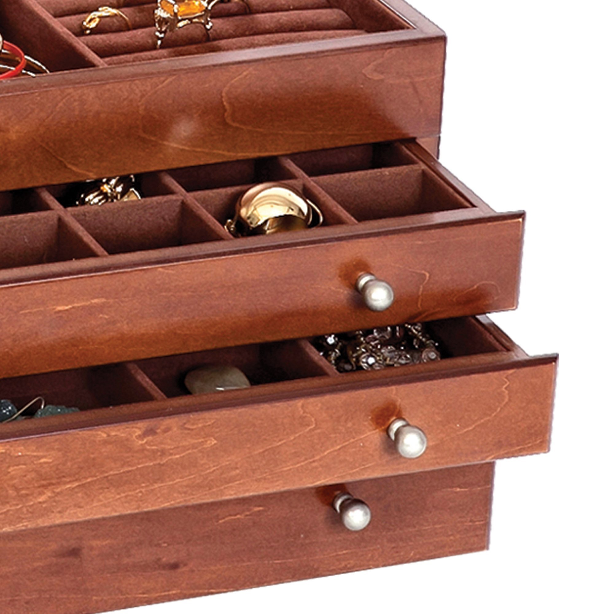 Mele & Co Brigitte Wooden Jewelry Box by Mele & Co. (Image #4)