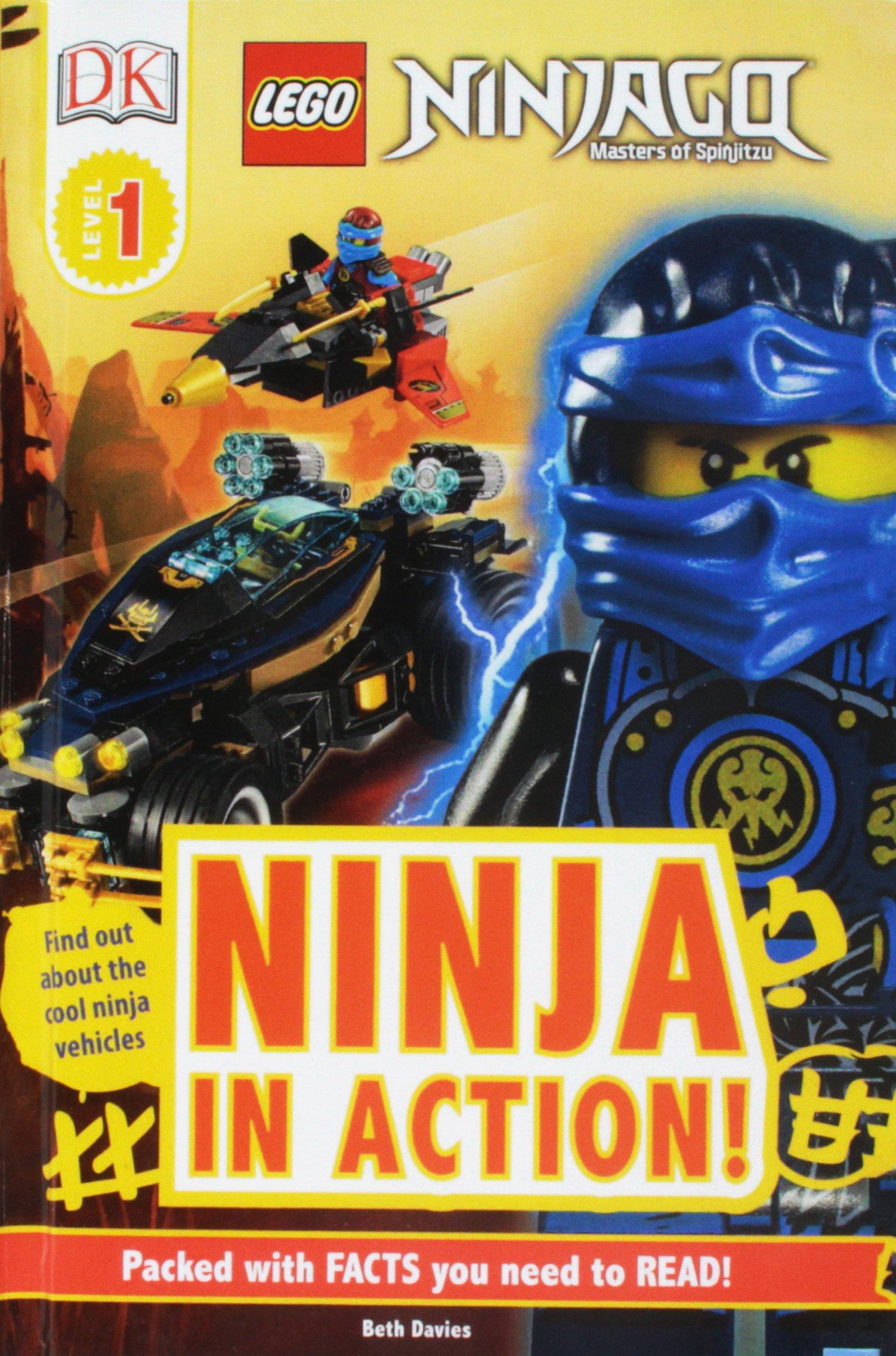 Amazon.com: Lego Ninjago Ninja In Action (DK Readers ...
